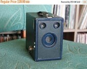 SALE 25% OFF Blue 1930's Kodak Six-16 Target Hawkeye Camera
