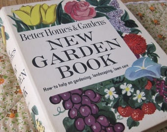 Vintage Better Homes and Gardens New Garden Book a 1961 Revised Edition