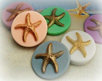 Golden Starfish Soap