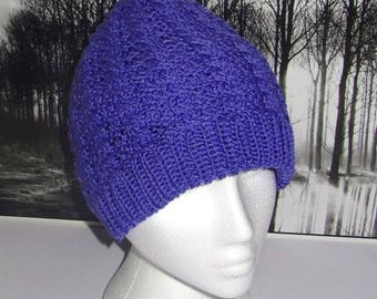 40% OFF SALE Instant Digital File PDF Download Cable Beanie hat pdf knitting pattern