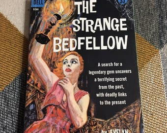 Vintage 1958 The Strange Bedfellow Evelyn Berckman Paperback Book