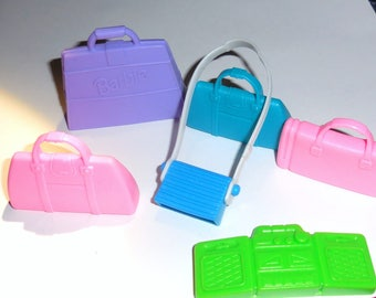 Barbie Bags with Barbie Boombox Fashion Doll Handbags and Purses