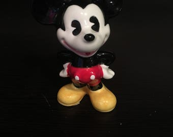 Vintage Mickey Mouse Figurine Figure Disney Japan Collectible