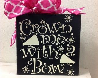 Cheerleader, cheer, bows, cheer bow, megaphone, sign, cheer sign