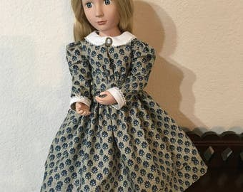 Little Women Style Day Dress for 16 inch doll