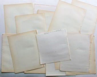 1899 Large Antique Paper
