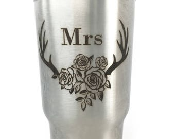 Wedding Party Tumblers For Bridal Party Mrs Bridesmaid Maid of Honor Gift Best Day Ever Wedding Special Day