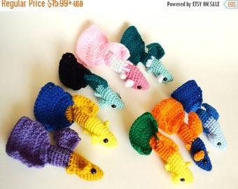 ON SALE Crochet Amigurumi Animal : Guppy Amigurumi