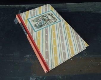 Alice in Wonderland Vintage Hardcover Book - Through the Looking Glass 1946 - Old Children's Book - John Tenniel Illustrations