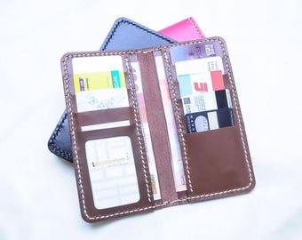 Ho-Ho-Sew Genuine Leather Long Wallet Purse DIY Kit