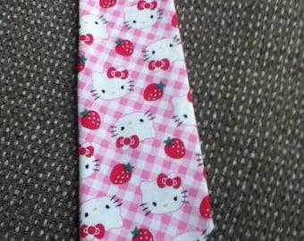 Men's Handmde Hello Kitty Necktie