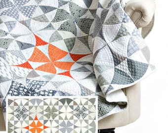 Chic Country Quilt Pattern by Sew Kind of Wonderful PAPER PATTERN