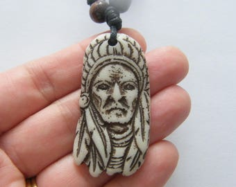 1  Native American pendant resin NB25