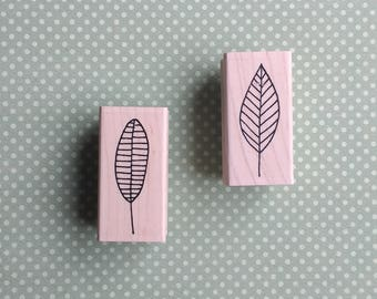 Set of Two - Leaf Stamps