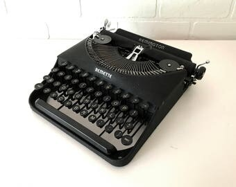 Remington Remette Antique Typewriter - Shirley - Professionally Serviced