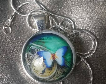The Blue Butterfly Pendant