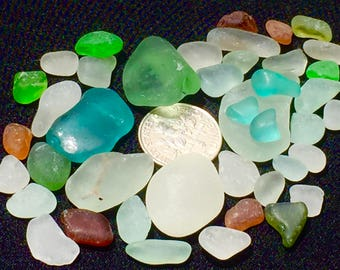 Sea Glass or Beach Glass of Hawaii SALE! AQUA! SEAFOAM! Bulk Sea Glass! Sea glass bulk! Jewelry quality!