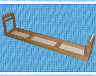 "Belt Loom made of Alder Wood  Working space 4"" wide x 28"" long!"