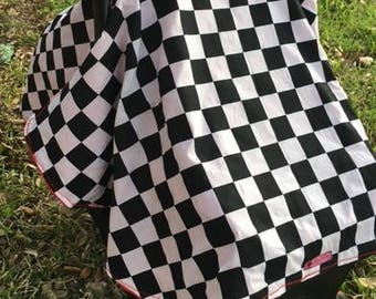 Baby Car Seat Canopy, Car Seat Canopy, Infant Car Seat Canopy, Car Seat Cover, Custom Made to Order, CARS 3 (Cover Only)
