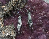 Demented Earrings - Sterling silver