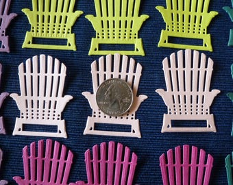 15 Summer Adirondack Chairs, Solid Card Stock by Stampin' Up! New In Colors, Die Cuts, Embellishments, Berry Burst, Fresh Fig, Power Pink +