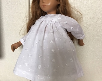 White Yoke Dress and Pants for Sasha Doll