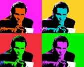 American Psycho Pop art - Custom order for Jake