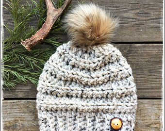 PDF Crochet Pattern, The Sawtooth Crochet Slouchy Hat Pattern, Slouch Hat Pattern, Crochet Beanie Pattern -  by AngelsChest  Pattern No. 77