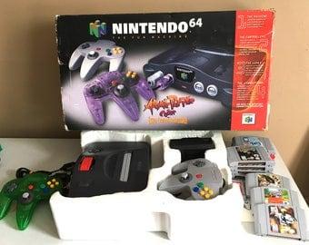 Nintendo 64 Bundle w 10 games - In Original Box