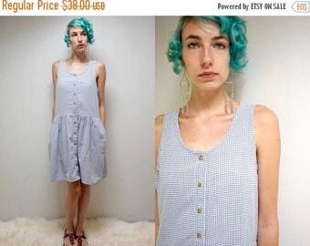 sale 25% off - Gingham Dress  //  Babydoll Dress  //  Cotton Dress  //  THE MAYFAIR