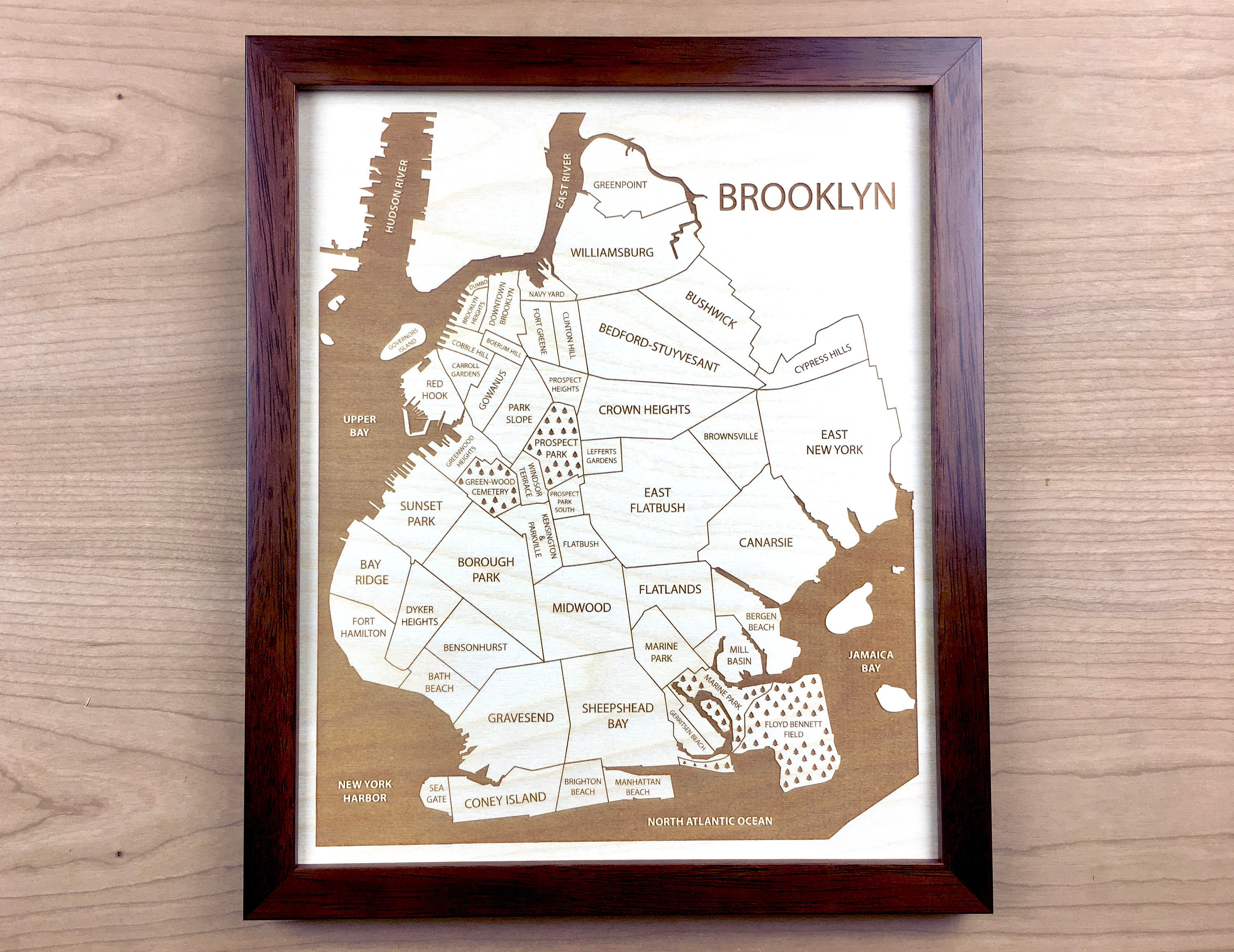 Laser cut picture frames image collections craft decoration ideas wood art 6 tree of life laser engraved wood wall art decor brooklyn new york neighborhood amipublicfo Choice Image