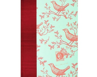 Journal Lined Paper  Red Birds