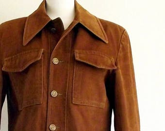 70s field jacket - 1970s work coat  - outdoorsman