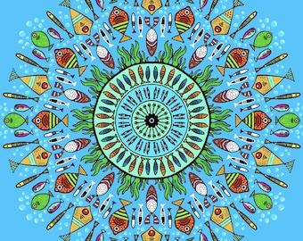 Fishy Mandala