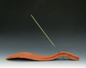 STONEWARE INCENSE BURNER #10 - Ceramic Incense Holder - Ceramic Incense Burner - Free Form Incense Burner - Sculptural Incense Burner