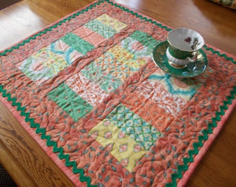 Sherbet Medley Quilted Table Runner