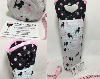 Standard Poodle Wine Bag Gift Under 20 Hostess Gift Swap Gift