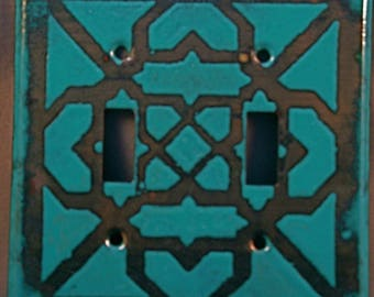 Enameled copper Switchplates/Outlet covers
