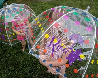 Tut Tut, Looks Like Rain Winnie the Pooh Custom Kids Dome Umbrella