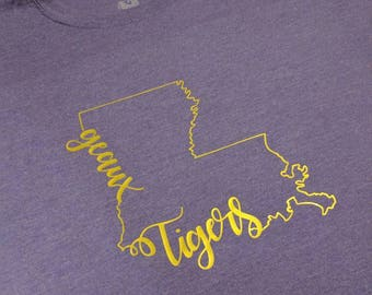Geaux Tigers!  Show your love for LSU!