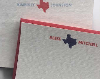 Texas Disaster Relief Stationery