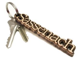 Sassenach Keychain
