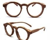 Brand Creation 10 Years TAKEMOTO olive wood THANKS handmade round glasses with wood box custom order