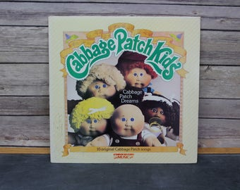 1984 Cabbage Patch Kids Vinyl Record, Cabbage Patch Dreams