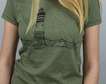 Paperharbour Women T-Shirt Organic & Fair Wear _khaki