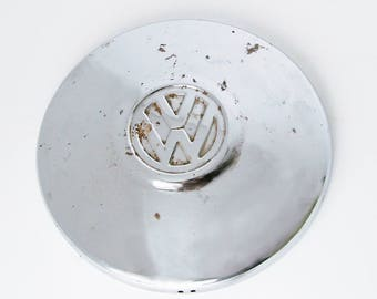 Original 1966-1967 VW Bug Hubcap - OEM Volkswagen Wheel Cover - VW Beetle Hub Cap