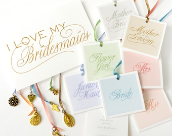 Wedding Shower Game - Charm Cake Pulls for your Bridesmaids and Mother of the Bride Gift