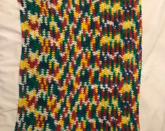 Vintage Knitted Baby blanket
