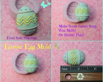 Easter Egg Mold, Silicone Mold, Egg Mold, Soap Egg Mold, Chocolate Mold, Wax, Polymer Clay Molds, Egg Molds, Easter Egg Molds, Fondant Mold