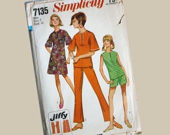 Simplicity Dress Suit Pattern, Miss size 8, Bust 30